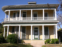 Victoriaans Huis San Antonio Stock Foto