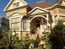 Victoriaans Huis San Jose Royalty-vrije Stock Afbeelding