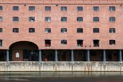 Victoriaans Pakhuis. stock afbeelding