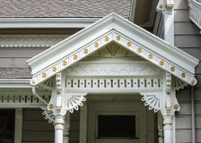 Victoriaanse architectuurdetails royalty-vrije stock foto's