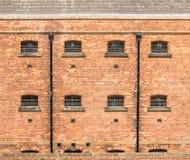 Victoriaanse (19de eeuw) gevangenis bij Lincoln-kasteel Royalty-vrije Stock Foto's