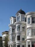 Victoriaanse Huizen Stock Afbeelding