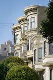 Victoriaanse Huizen San Francisco Royalty-vrije Stock Afbeeldingen