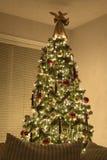 Victoriaanse Kerstboom royalty-vrije stock foto's
