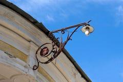 Victoriaanse lamp Stock Foto's