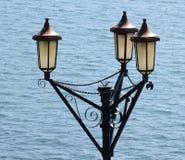 Victoriaanse Lampen stock foto
