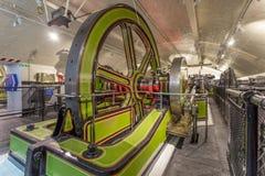 Victoriaanse Motorzalen, Torenbrug stock afbeeldingen