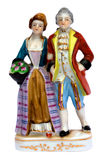 Victoriaanse porseleinbeeldjes royalty-vrije stock fotografie