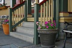 Victoriaanse portiek royalty-vrije stock fotografie
