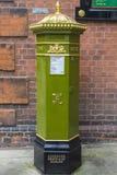 Victoriaanse Postbus in Rochester, het UK Stock Afbeelding