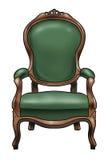 Victoriaanse stoel Stock Fotografie