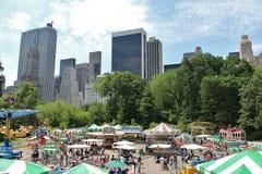 Victoriaanse Tuinen, Central Park royalty-vrije stock fotografie