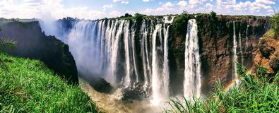 Victoriaanse watervallen Stock Foto's