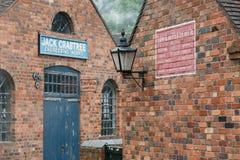 Victoriaanse workshops bij Blists-Heuvel Stock Afbeeldingen