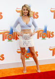 Victoriah Bech. At the Los Angeles premiere of 'Trolls' held at the Regency Village Theatre in Westwood, USA on October 23, 2016 Stock Images