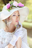 Victorian age fashion Royalty Free Stock Image