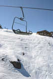 Victorian Alps, Mt Buller, Australia. Chairlift in the Victorian Alps, Mt Buller, Australia Stock Photography