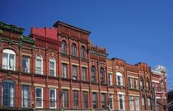 Victorian apartment building Stock Photos