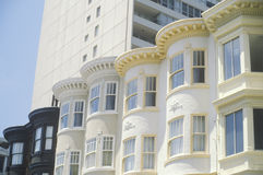 Victorian apartment buildings Royalty Free Stock Photos