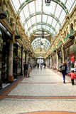 Victorian Archade, Leeds. Royalty Free Stock Photo