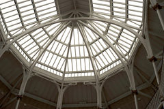 Victorian architectural roof Stock Images