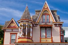 Victorian Architecture. Gingerbread detail of Victorian Architecture in Cape May New Jersey Royalty Free Stock Image