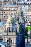 Glasgow City Chambers. The Victorian architecture of Glasgow City Chambers Royalty Free Stock Image