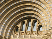 Victorian architecture - Natural History Museum. A piece of Natural History Museum building Stock Photography