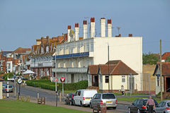 Victorian architecture on seafront Stock Photo