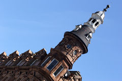 Victorian architectuur Stock Afbeeldingen