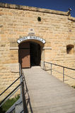 Fort Rinella Malta. Victorian artillery fortress, Fort Rinella, Malta Royalty Free Stock Images