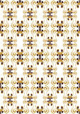 Victorian background. Victorian pattern for wallpaper design Royalty Free Stock Images