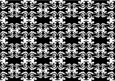 Victorian background. Victorian pattern for wallpaper design Stock Photography