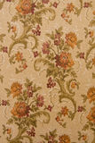 VICTORIAN BACKGROUND. Fragment of a floral fabric, Victorian Style stock photography