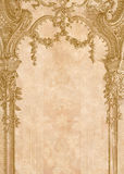 Victorian background. With engraving frame Stock Images