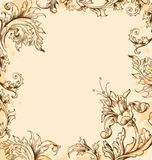 Victorian background Stock Image