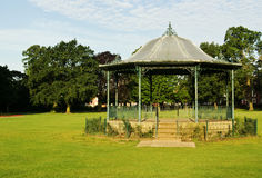 Victorian bandstand. A Victorian bandstand at Abington Park,Northampton,England Royalty Free Stock Photography