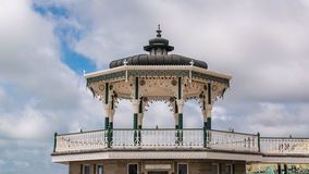 The Victorian bandstand in Brighton and Hove Stock Image