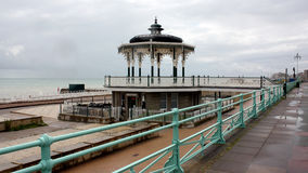 Victorian bandstand on pier, Brighton, England Stock Image