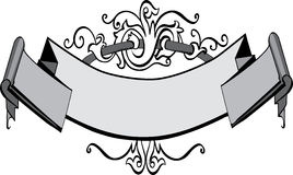 Victorian banner. Victorian grey vector banner with eps8 file included vector illustration