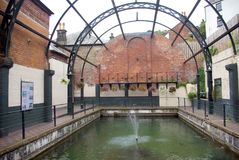 Victorian Baths Stock Photo