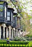 Victorian Bay Windows Royalty Free Stock Photography