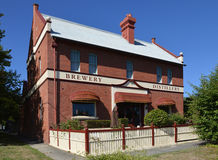 Victorian Brewery and Distillery. This historic building is in Loch, South Gippsland, Victoria, Australia. Photo taken January, 2016 royalty free stock image