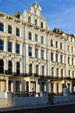 The victorian building. The old victorian building in UK Stock Image