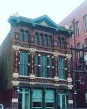 Victorian Building. Beautiful Victorian building in Galveston, Texas royalty free stock images