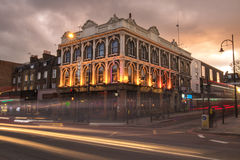 Victorian building with at dusk in London Royalty Free Stock Images