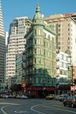 Victorian building in San Francisco Royalty Free Stock Photo