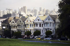 Victorian building in San Francisco, USA Royalty Free Stock Photography