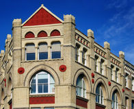 Victorian building tops Stock Photos