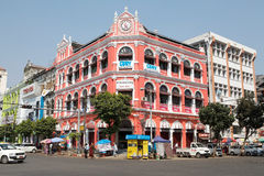 Victorian building, Yangon, Myanmar Royalty Free Stock Photography